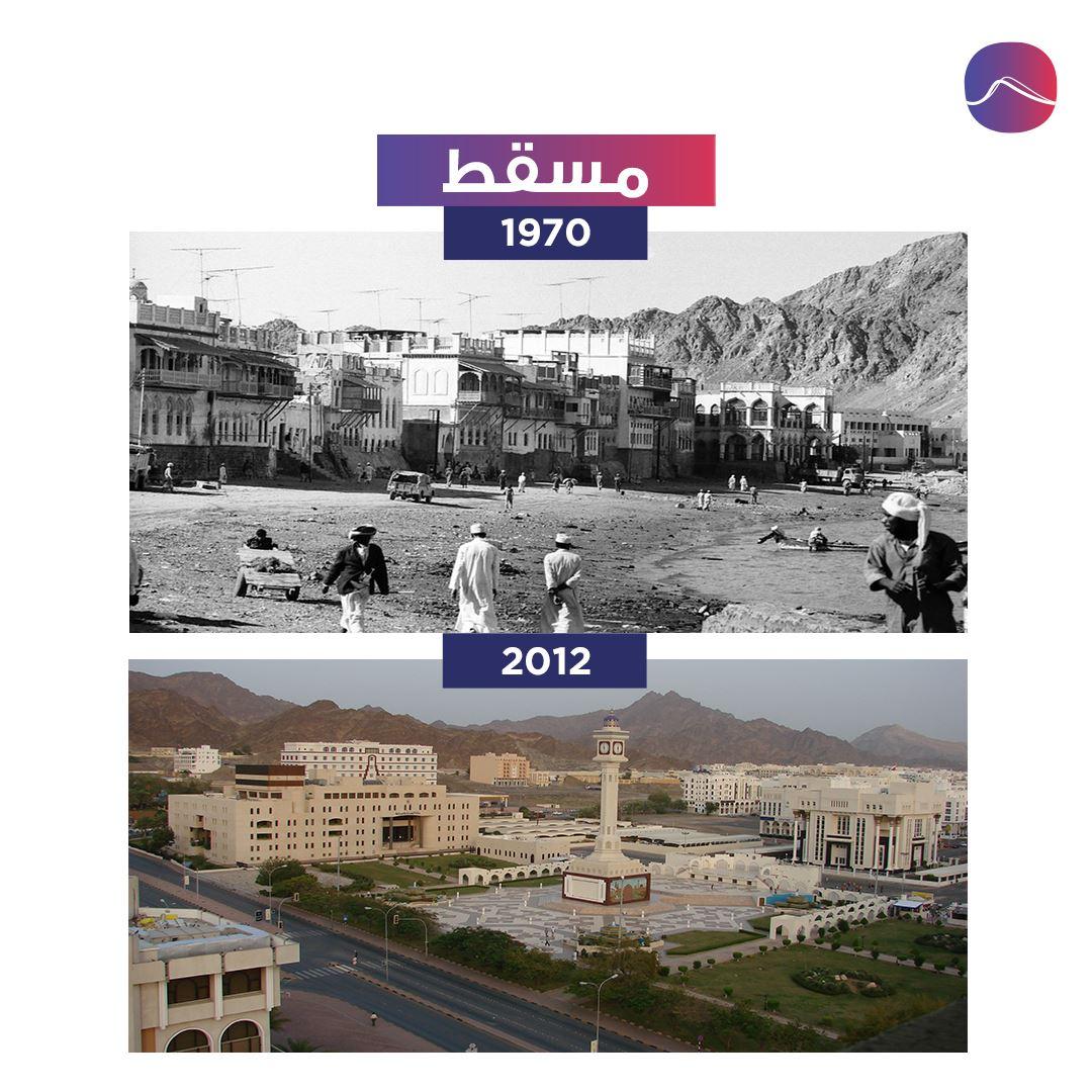 مسقط بين ماضي وحاضر سلطنة عمان