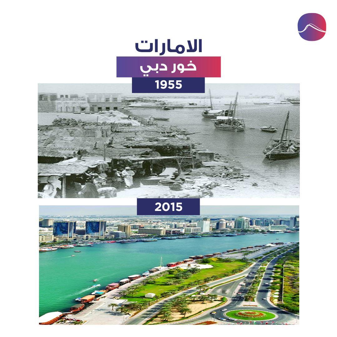 خور دبي .. مجرى التاريخ ومعبر المستقبل