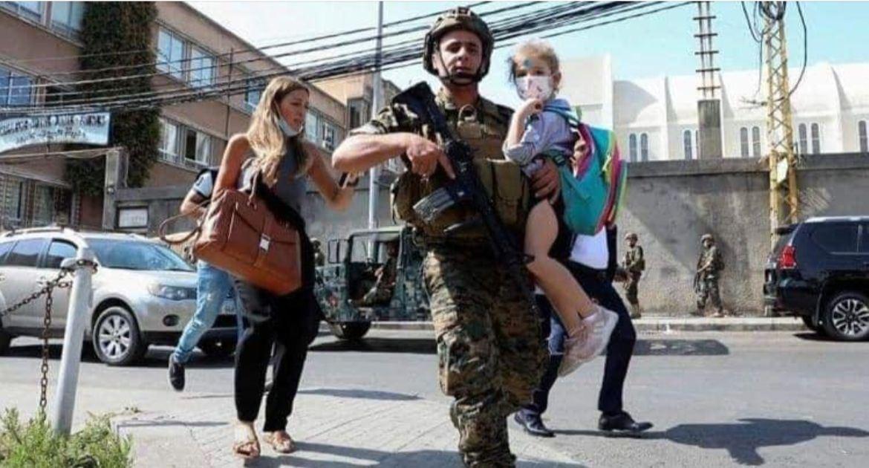 إطلاق النار يتواصل في بيروت .. ونزوح الالاف من العاصمة