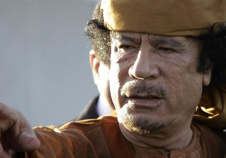 مقتل معمّر القذافي