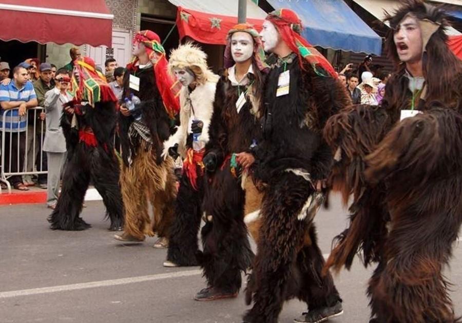 بو جلود: كرنفال شعبي في المغرب