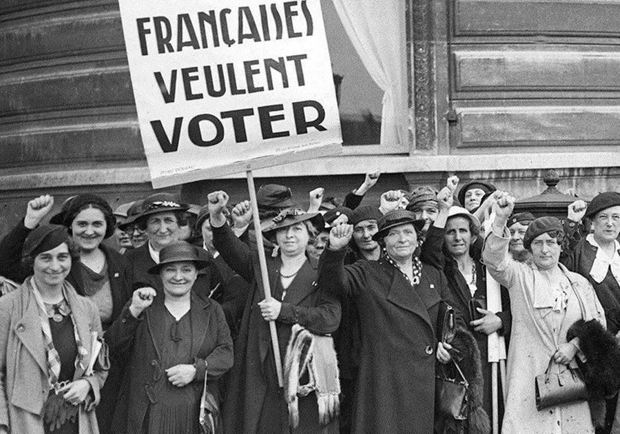 حق المرأة الفرنسية في التصويت