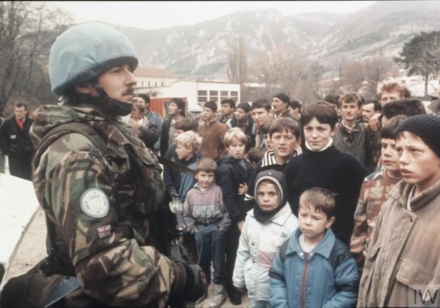 نهاية حرب البوسنة والهرسك